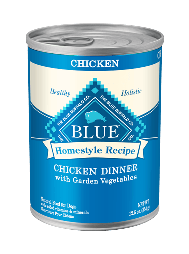 Blue Buffalo Homestyle Recipe Chicken Dinner with Garden Vegetables