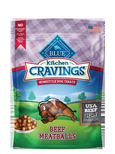 Blue Buffalo Kitchen Cravings Beef Meatballs