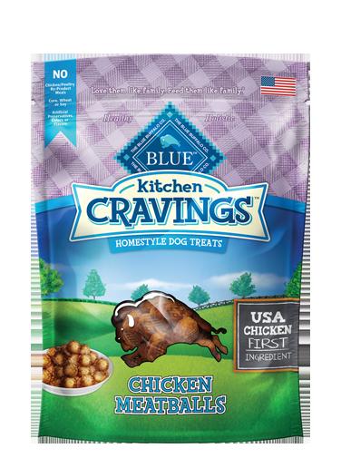 Blue Buffalo Kitchen Cravings Chicken Meatballs