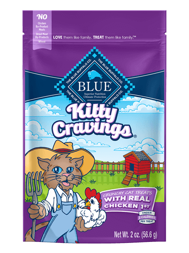 Blue Buffalo Kitty Cravings With Real Chicken
