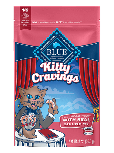 Blue Buffalo Kitty Cravings With Real Shrimp