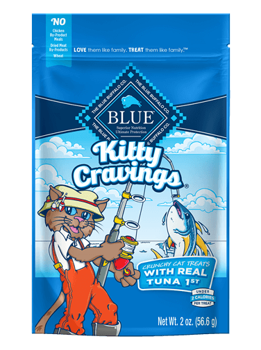Blue Buffalo Kitty Cravings With Real Tuna
