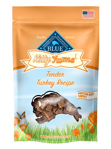 Blue Buffalo Kitty Yums Tender Turkey Recipe