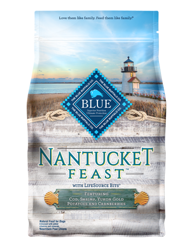 Blue Buffalo Nantucket Feast Cod, Shrimp, Yukon Gold Potatoes and Cranberries