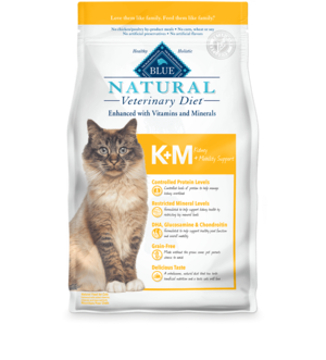 Blue Buffalo Natural Veterinary Diet KM Kidney + Mobility Support