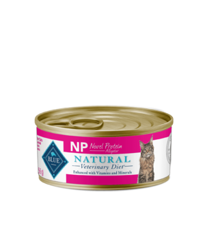 Blue Buffalo Natural Veterinary Diet NP Novel Protein Alligator For Cats (Canned)