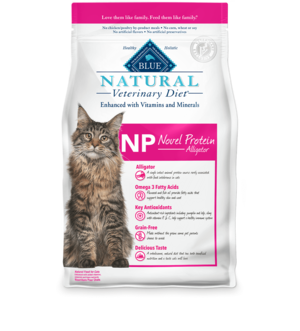 Blue Buffalo Natural Veterinary Diet NP Novel Protein Alligator For Cats