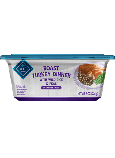 Blue Buffalo Roast Turkey Dinner With Wild Rice & Peas
