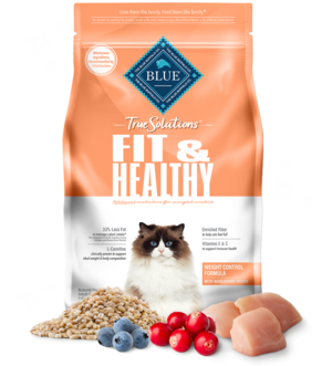 Blue Buffalo True Solutions Fit & Healthy Weight Control Formula For Cats