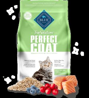 Blue Buffalo True Solutions Perfect Coat (Skin & Coat Care Formula) For Cats