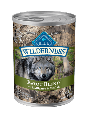Blue Buffalo Wilderness Bayou Blend With Alligator & Catfish