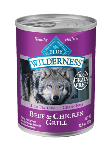 Blue Buffalo Wilderness Beef and Chicken Grill