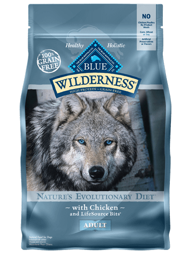 Blue Buffalo Wilderness Chicken Recipe For Adult Dogs