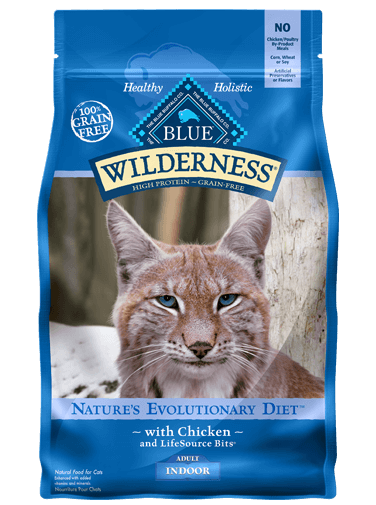 Blue Buffalo Wilderness Chicken Recipe For Indoor Adult Cats
