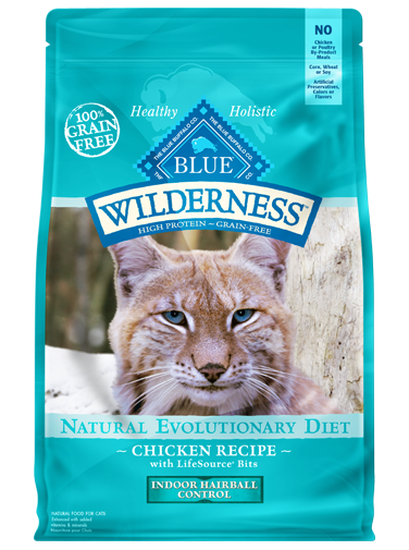 Blue Buffalo Wilderness Chicken Recipe For Indoor Hairball Control