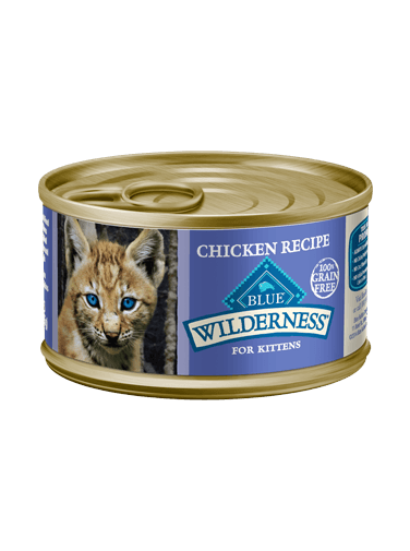 Blue Buffalo Wilderness Chicken Recipe For Kittens