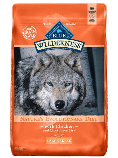 Blue Buffalo Wilderness Chicken Recipe For Large Breed Adult Dogs