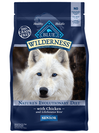 Blue Buffalo Wilderness Chicken Recipe For Senior Dogs
