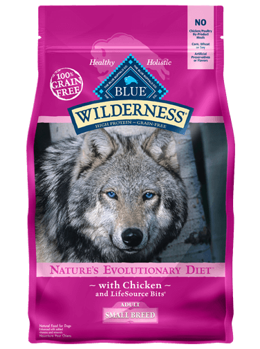 Blue Buffalo Wilderness Chicken Recipe For Small Breed Adult Dogs
