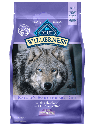 Blue Buffalo Wilderness Chicken Recipe For Toy Breed Adult Dogs