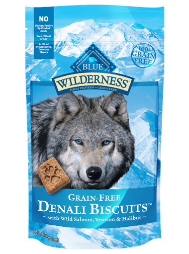 Blue Buffalo Wilderness Denali Biscuits With Wild Salmon, Venison and Halibut
