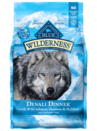 Blue Buffalo Wilderness Denali Dinner With Wild Salmon, Venison and Halibut