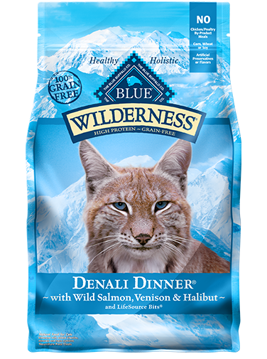 Blue Buffalo Wilderness Denali Dinner With Wild Salmon, Venison & Halibut For Cats