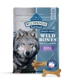 Blue Buffalo Wilderness Dental Chews Mini Wild Bones