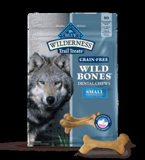Blue Buffalo Wilderness Dental Chews Small Wild Bones