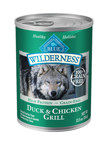 Blue Buffalo Wilderness Duck and Chicken Grill