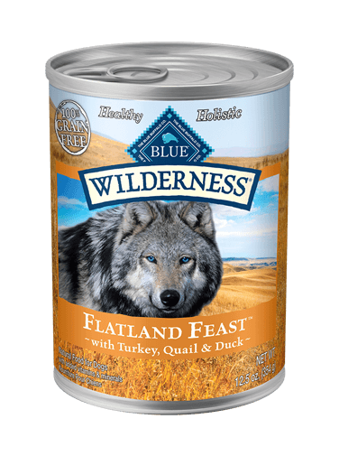 Blue Buffalo Wilderness Flatland Feast With Turkey, Quail & Duck