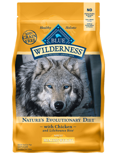 Blue Buffalo Wilderness Healthy Weight Chicken Recipe For Adult Dogs