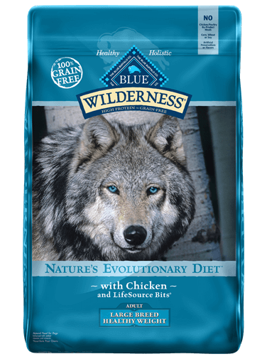 Blue Buffalo Wilderness Healthy Weight Chicken Recipe For Large Breed Adult Dogs