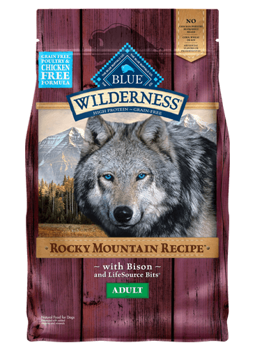 Blue Buffalo Wilderness Rocky Mountain Recipe Bison For Adult Dogs