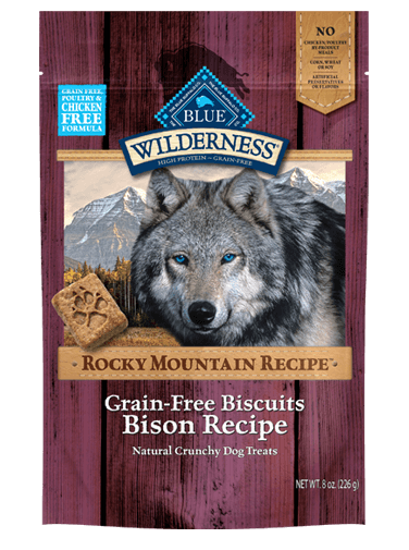 Blue Buffalo Wilderness Rocky Mountain Recipe Bison Recipe Biscuits
