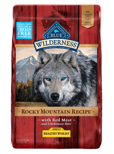 Blue Buffalo Wilderness Rocky Mountain Recipe Healthy Weight Red Meat