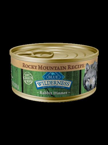 Blue Buffalo Wilderness Rocky Mountain Recipe Rabbit Dinner