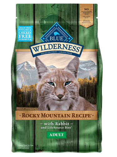 Blue Buffalo Wilderness Rocky Mountain Recipe Rabbit For Adult Cats