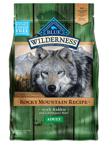 Blue Buffalo Wilderness Rocky Mountain Recipe Rabbit For Adult Dogs
