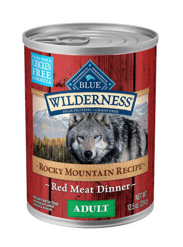 Blue Buffalo Wilderness Rocky Mountain Recipe Red Meat Dinner For Adult Dogs