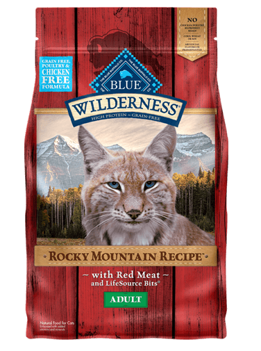 Blue Buffalo Wilderness Rocky Mountain Recipe Red Meat For Adult Cats