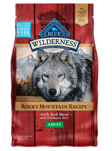 Blue Buffalo Wilderness Rocky Mountain Recipe Red Meat For Adult Dogs