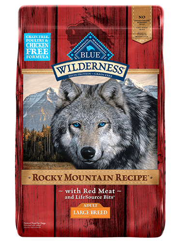 Blue Buffalo Wilderness Rocky Mountain Recipe Red Meat For Large Breed Dogs