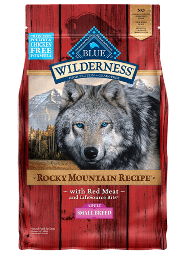 Blue Buffalo Wilderness Rocky Mountain Recipe Red Meat For Small Breed Dogs