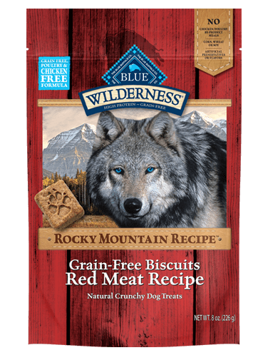 Blue Buffalo Wilderness Rocky Mountain Recipe Red Meat Recipe Biscuits