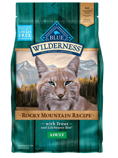 Blue Buffalo Wilderness Rocky Mountain Recipe Trout For Adult Cats