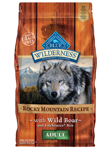 Blue Buffalo Wilderness Rocky Mountain Recipe Wild Boar