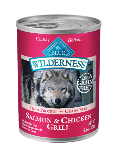 Blue Buffalo Wilderness Salmon and Chicken Grill