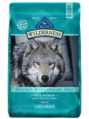 Blue Buffalo Wilderness Salmon Recipe For Large Breed Adult Dogs