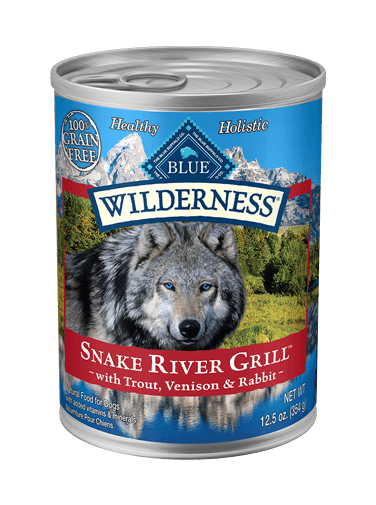 Blue Buffalo Wilderness Snake River Grill With Trout, Venison & Rabbit